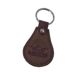 Rokker Key Ring Brązowy jeden rozmiar