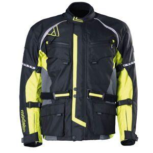 Modeka Tourex Kurtka tekstylna Czarny żółty L