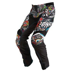 Oneal O´Neal Mayhem Crank Motocross spodnie Czarny 28