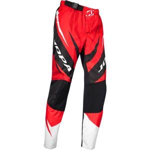Jopa Exo MX spodnie Biały Czerwony 32