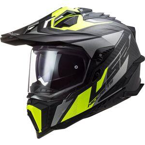 LS2 MX701 Explorer C Focus Carbon Kask motocrossowy  - Size: Medium