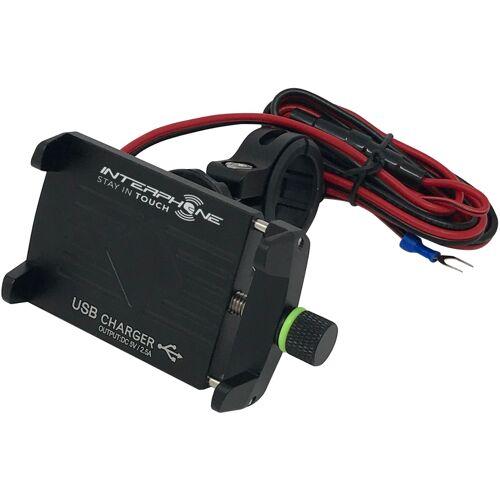 Interphone Crab Evo USB Uchwyt na telefon komórkowy  - Size: jeden rozmiar