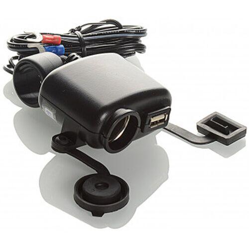 Booster USB+DC12/24V Zasilania  - Size: jeden rozmiar