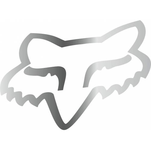 FOX Head TDC 18 Naklejki  - Size: 45 cm