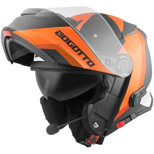 Bogotto V271 BT Zabu Bluetooth Kask  - Size: Large