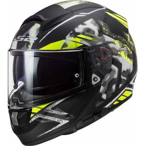 LS2 FF397 Vector Evo Stencil Kask  - Size: Large