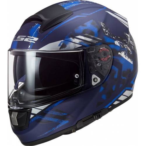 LS2 FF397 Vector Evo Stencil Kask  - Size: Extra Large