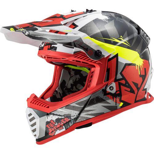 LS2 MX437 Fast Evo Crusher Hełm motocross  - Size: Small