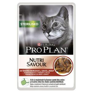 Pro Plan -5% Rabat dla nowych klientówPro Plan Sterilised Nutrisavour - Kurczak, 12 x 85 g  Darmowa Dostawa od 99 zł