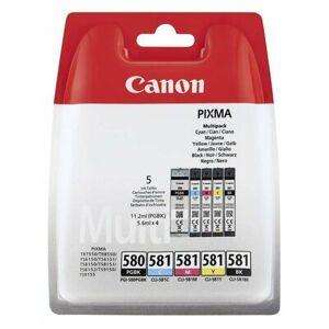 Canon Wkłady atramentowe CANON PGI-580PGBK+CLI-581CMYBK