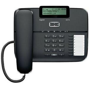 Siemens Telefon GIGASET DA710 Czarny