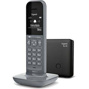 Siemens Telefon bezprzewodowy GIGASET CL390 Szary