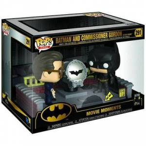 FUNKO Figurka FUNKO POP! Movie: Moment Batman with Light Up Bat Signal
