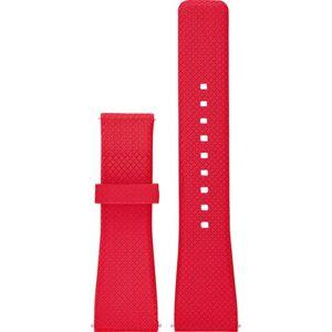 MICHAEL KORS ACCESS Pasek MICHAEL KORS ACCES MKT9003 Silikonowy 22mm Czerwony