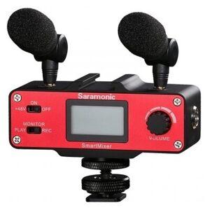 SARAMONIC Adapter audio SARAMONIC SmartMixer do smartfonów z uchwytem i mikrofonami