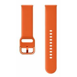 Samsung Pasek do smartwatcha SAMSUNG Sport dla Galaxy Watch Active 20mm Pomarańczowy ET-SFR50MOEGWW
