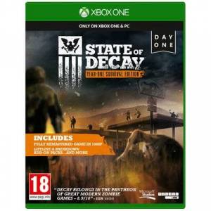 Microsoft Gra Xbox One State of Decay Year-One Survival Edition Day One