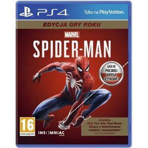 Sony Gra PS4 Marvel's Spider-Man Edycja Gry Roku