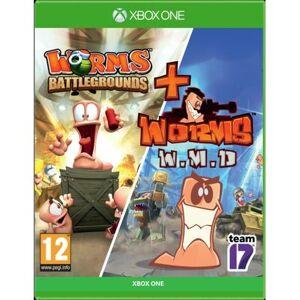 CENEGA Gra Xbox One Worms Battlegrounds + Worms W.M.D