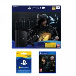 Sony Konsola SONY PlayStation 4 Pro 1TB G Chassis Czarna + Death Stranding + Playstation Plus 14 dni