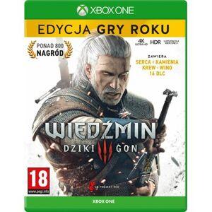 CENEGA Gra Xbox One Wiedźmin 3: Dziki Gon - Edycja Gry Roku