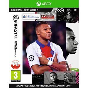 Electronic Arts Gra Xbox One FIFA 21 Edycja Mistrzowska