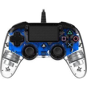 BIG BEN Kontroler BIG BEN Nacon Compact Controller Przezroczysty Niebieski do PS4