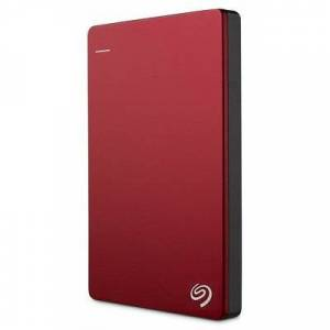 Seagate Dysk zewnętrzny SEAGATE BackupPlus Slim 2TB Czerwony STHN2000403