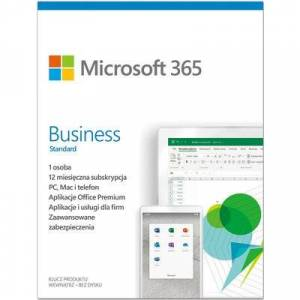 Microsoft Program Microsoft 365 Business Standard PL 1 rok