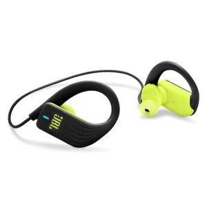 JBL Słuchawki bezprzewodowe JBL Endurance Sprint Czarny z limonką