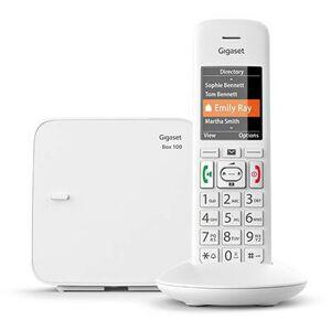Siemens Telefon stacjonarny GIGASET E370 Biały