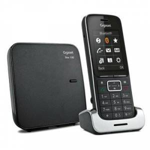 Siemens Produkt z outletu: Telefon stacjonarny GIGASET SL450 Czarny