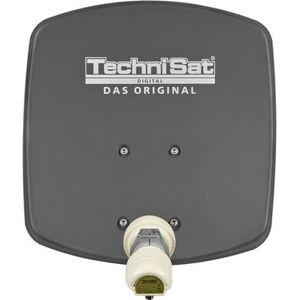 TechniSat Czasza TECHNISAT DigiDish 45 Grafitowy z mocowaniem AZ/EL i konwerterem Universal Twin-LNB