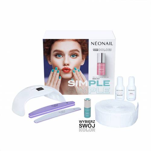 Neonail Zestaw startowy SIMPLE One Step Color Protein BASIC Starter Set