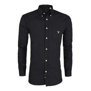 GANT Koszula Regular Fit - Gant Black
