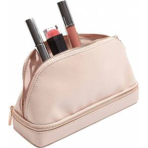 Stackers Kosmetyczka dwukomorowa Stackers blush pink
