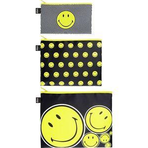 LOQI Saszetki Zip Pockets 3 szt. Smiley