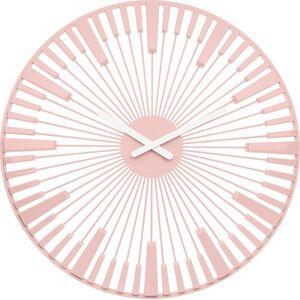 Koziol Zegar ścienny Piano pudrowy róż