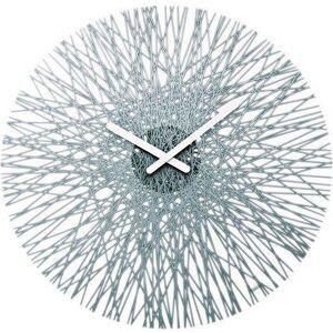 Koziol Zegar ścienny Silk antracytowy