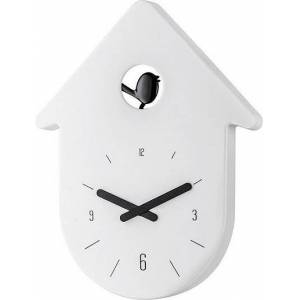 Koziol Zegar ścienny Toc Toc biały