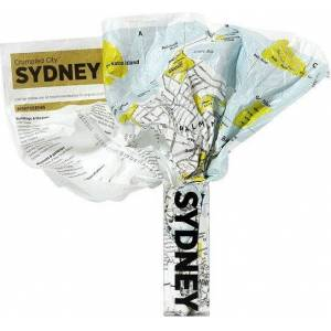 Palomar Mapa Crumpled City Sydney