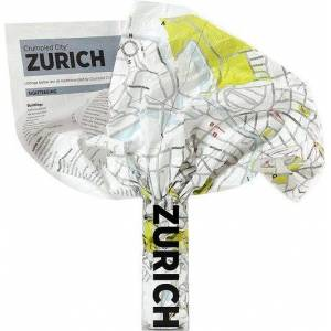 Palomar Mapa Crumpled City Zurich