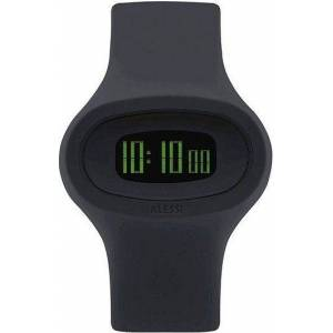 Alessi Zegarek Jak czarny