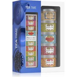 Kusmi Herbaty Kusmi Tea Time w zestawie z zaparzaczką 5 x 25g