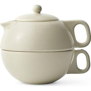 Viva Scandinavia Dzbanek do zaparzania herbaty Jaimi dwuczęściowy beżowy