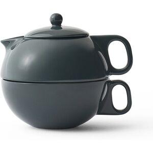 Viva Scandinavia Dzbanek do zaparzania herbaty Jaimi dwuczęściowy ciemnozielony