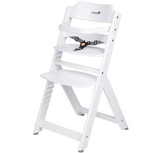 Safety 1st Wysokie krzesełko Timba Basic, drewniane, białe, 27624310