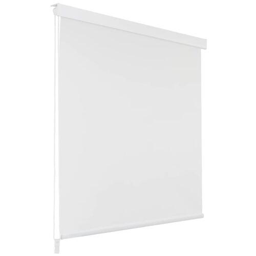 vidaXL Roleta prysznicowa 160 x 240 cm, biała