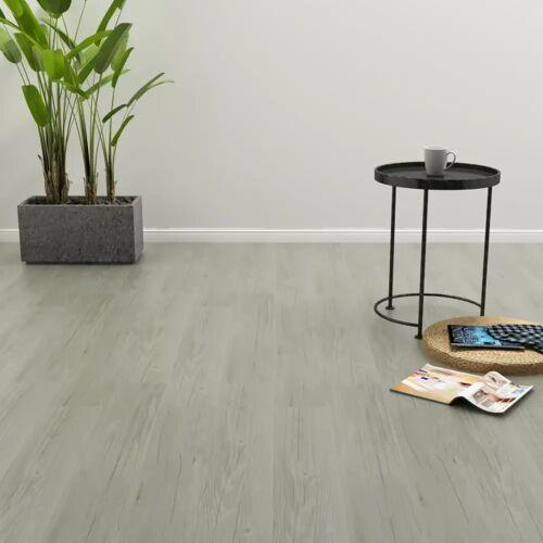 vidaXL Samoprzylepne panele podłogowe, 4,46 m², 3 mm, PVC, szare