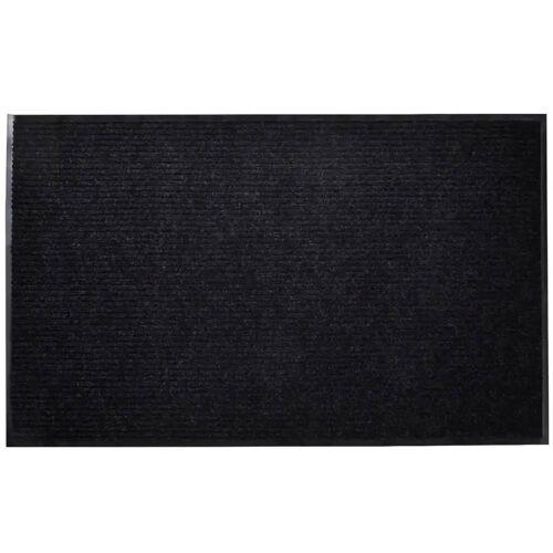 vidaXL Wycieraczka przed drzwi, PCV, 120 x 180 cm, czarna